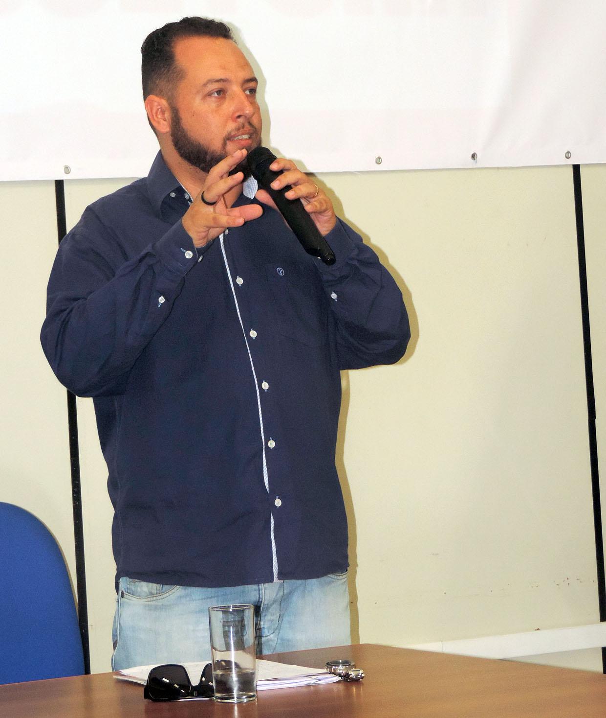 Secretário de Cultura, Jean Camoleze, incentivou as relações sociais fora do mundo virtual