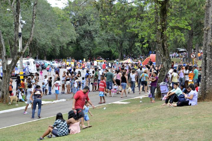 Em 2015, 30 mil pessoas passaram pelo parque no Dia do Trabalhador