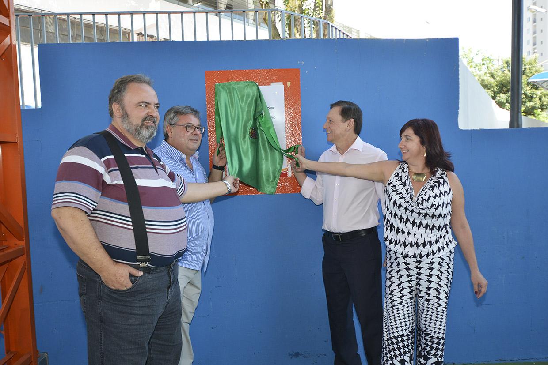 As melhorias da escola vão beneficiar também a comunidade local