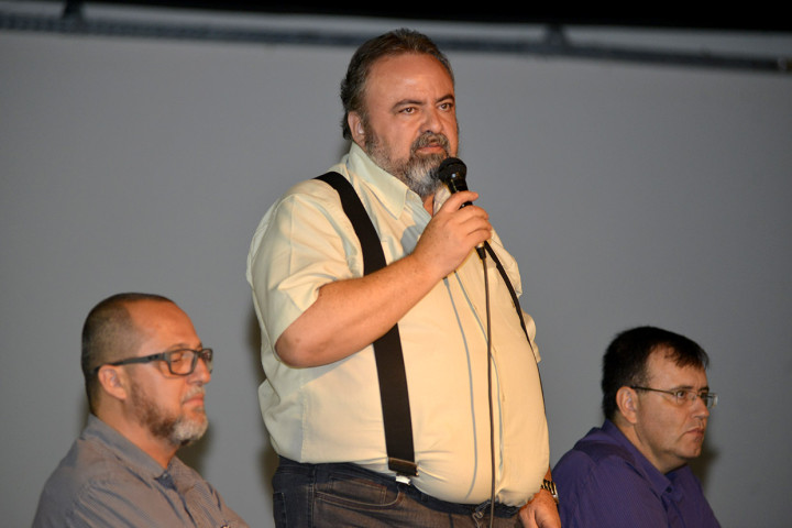 O vice-prefeito Durval Orlato representou o prefeito no evento