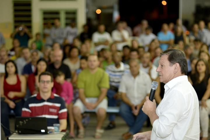 Prefeito falou de realizações e projetos com a população do Santa Gertrudes
