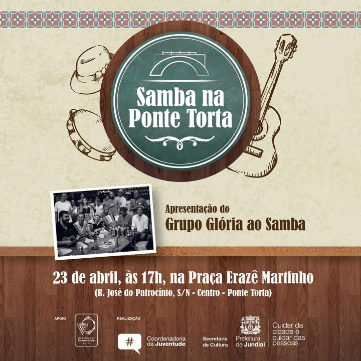 Evento gratuito pretende valorizar a cultura do samba