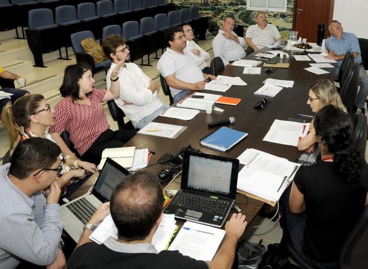 A comissão foi escolhida durante a etapa de conclusão do processo participativo
