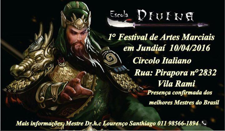 O festival vai contar com a presença de vários mestres renomados