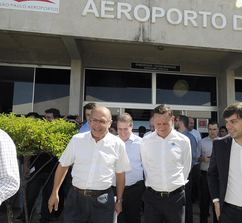 Cerimônia reuniu Alckmin e Bigardi