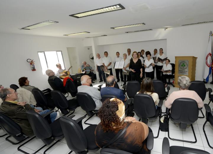 Coral sertanejo foi atração na Casa das Letras