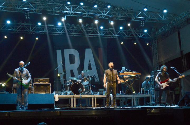 Ira! levou sucessos ao público no encerramento da Virada