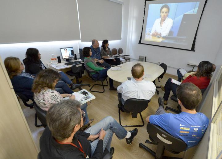 Teleconferência reuniu técnicos da Prefeitura e da Dae