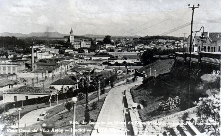Vista da esplanada na década de 1950