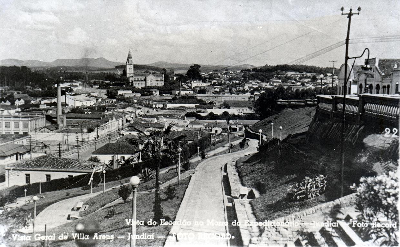 Vista da Esplanada Monte Castelo na década de 1950