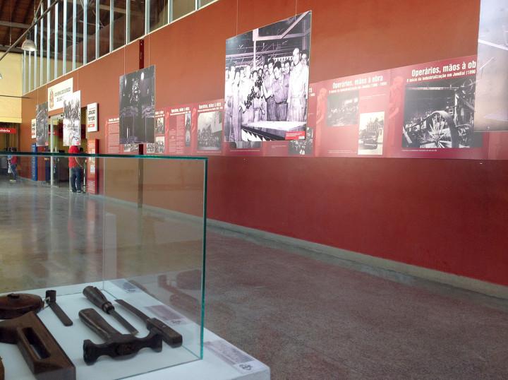 Exposição faz homenagem à memória de ex-trabalhadores da antiga Cia. Paulista