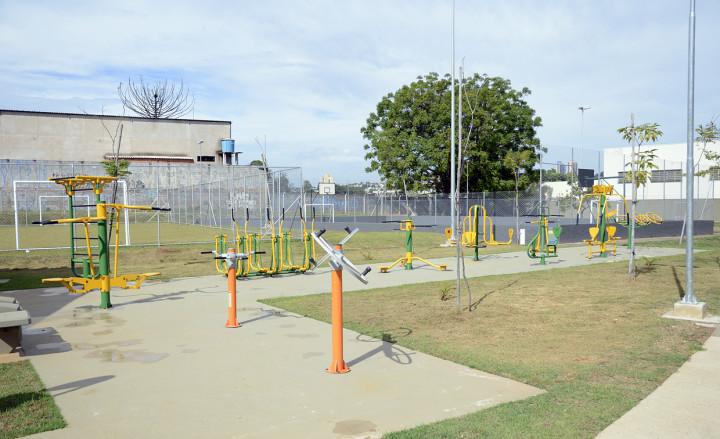 Centro Esportivo Antonio Iacovino: reforma em finalização