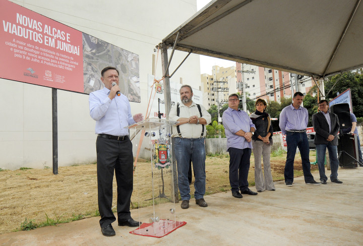 Bigardi destacou a importância da obra, que integra o Complexo Jundiaí