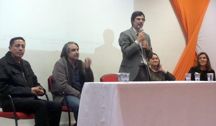 Secretário José Renato Polli destacou a importância da formaão cultural mais ampla