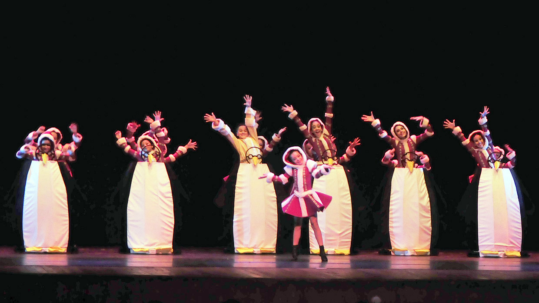 Em 2015, a Mostra de Dança recebeu coreografias de toda a região