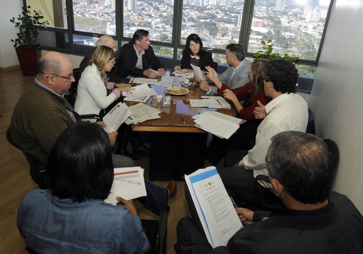 A reunião tratou do processo para definir os futuros eixos de desenvolvimento regional