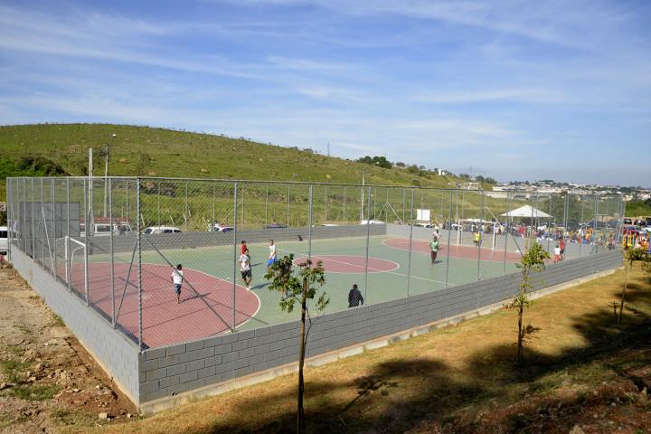 Quadra, academia e playground fazem parte da reurbanização do Tamoio