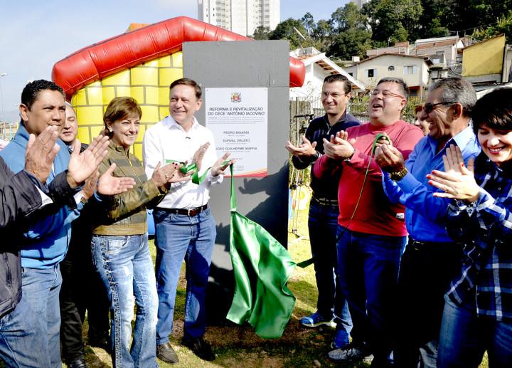 Vila Nambi recebe reforma de centro esportivo