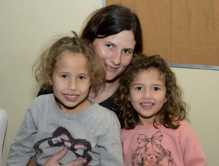 """Patrícia e as filhas: """"todo mundo tem um sonho"""""""