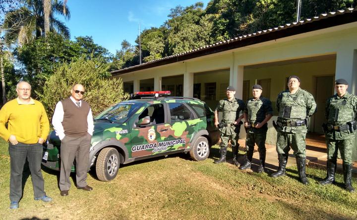 GM conta com uma nova viatura equipada para ações integradas na Serra do Japi