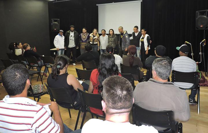 Equipe do Comad e da Secretaria de Cultura se uniram para promover interação
