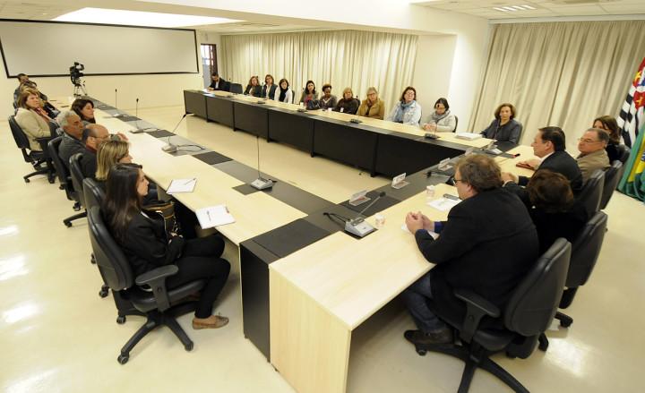 Participaram profissionais das secretarias envolvidas na elaboração do documento