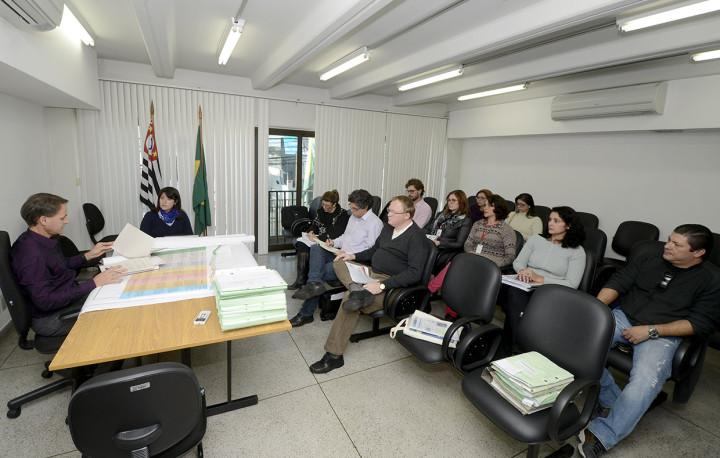 Equipe de técnica que participou da elaboração do projeto participou da audiência