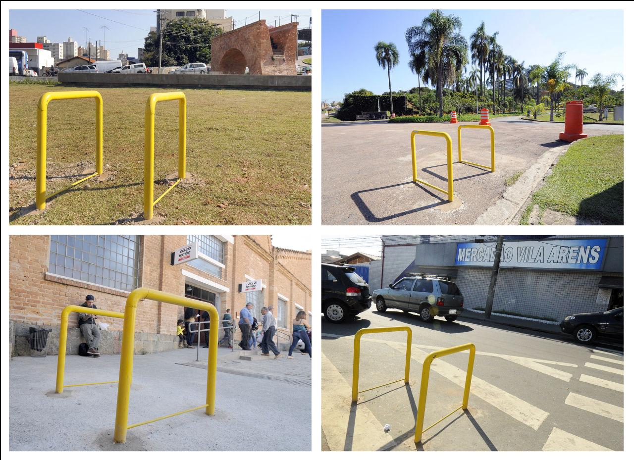 Novos pontos de paraciclos são no Vianelo, Complexo Fepasa e Jardim Botânico