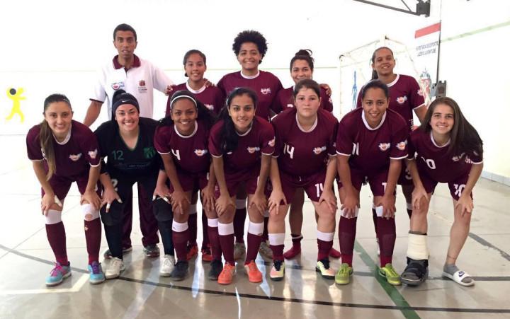 Futsal feminino aguarda vencedor de Taquarivaí e Sorocaba para decidir o ouro