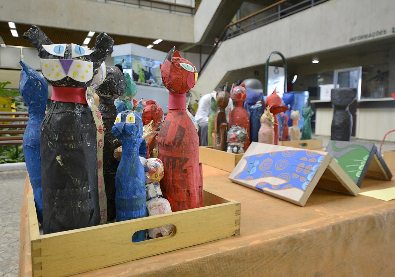 Exposição é resultado de trabalho desenvolvido em sala de aula