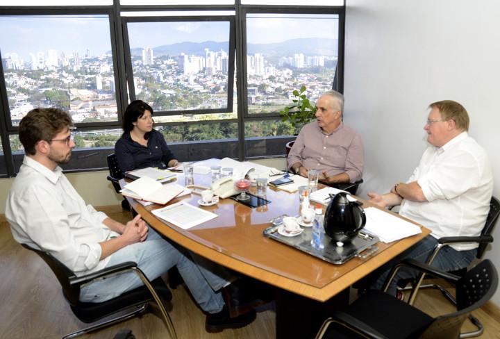 Reunião da Secretaria de Planejamento e DAE