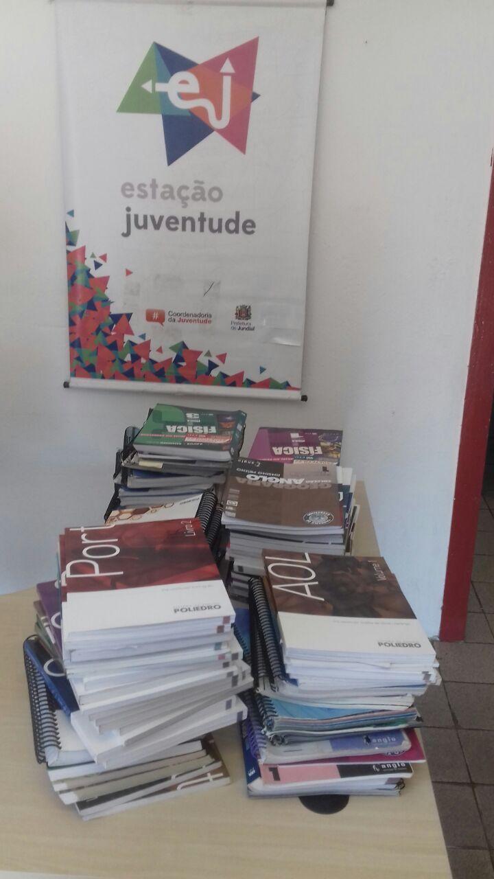Mais de 80 livros foram recebidos