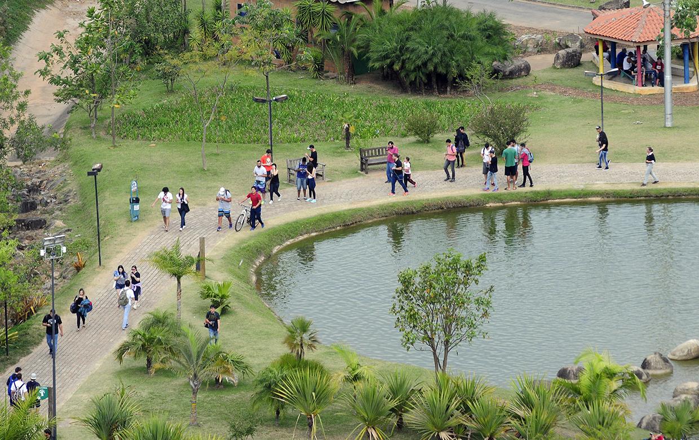 Com maior movimento, parques se preocupam com preservação