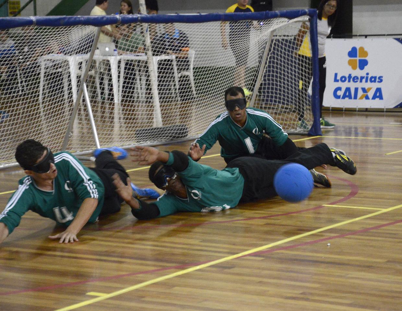 A Copa Caixa de Goalball é considerada o maior campeonato da modalidade no Brasil
