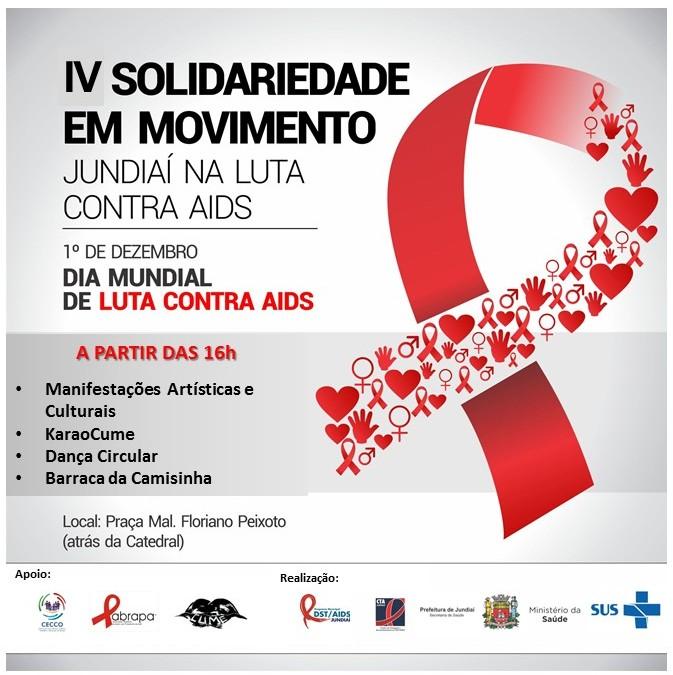 Ação busca reforçar o respeito e a solidariedade às pessoas com HIV e AIDS