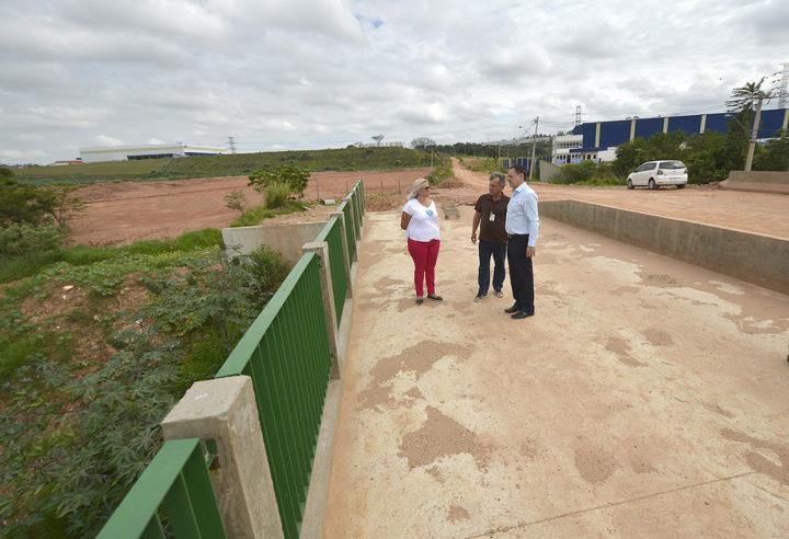 O prefeito Pedro Bigardi destacou a importância da obra