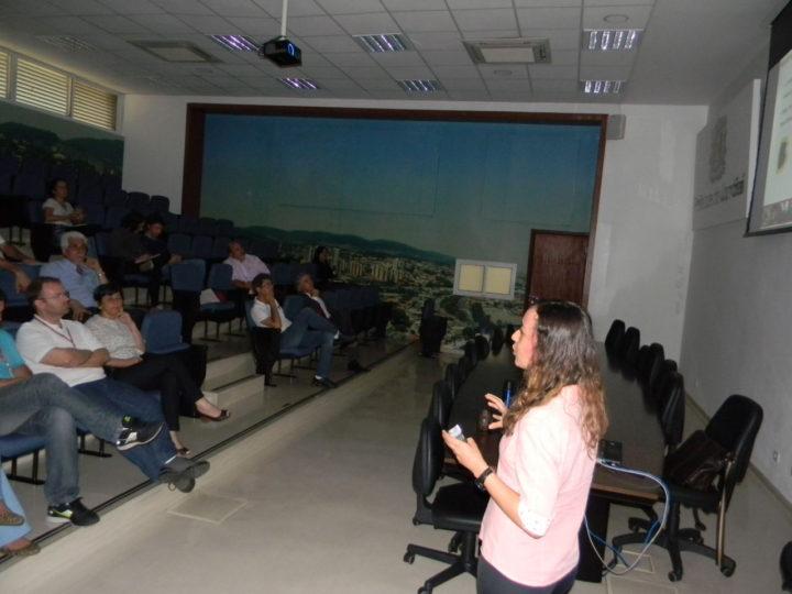 Fatores de execução do plano foram explanados pela bióloga Bruna da Silva