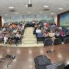 Auditório do Paço Municipal com plateia