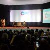 Governador João Dória discursa em auditório