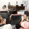 Pacientes participam de palestra do PAIT