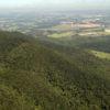 Foto aérea da Serra do Japi