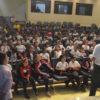 Auditório lotado durante palestra