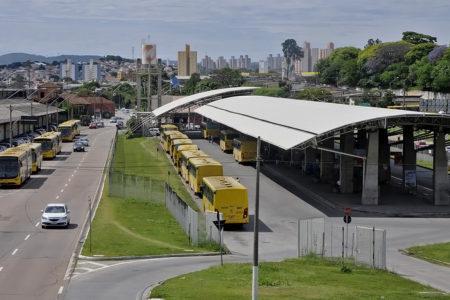 Vista panorâmica do Terminal Vila Arens