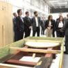 Prefeito conhece a fábrica da Varian ao lado de gestores e executivos da empresa