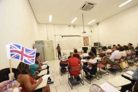 Sala de aula de inglês