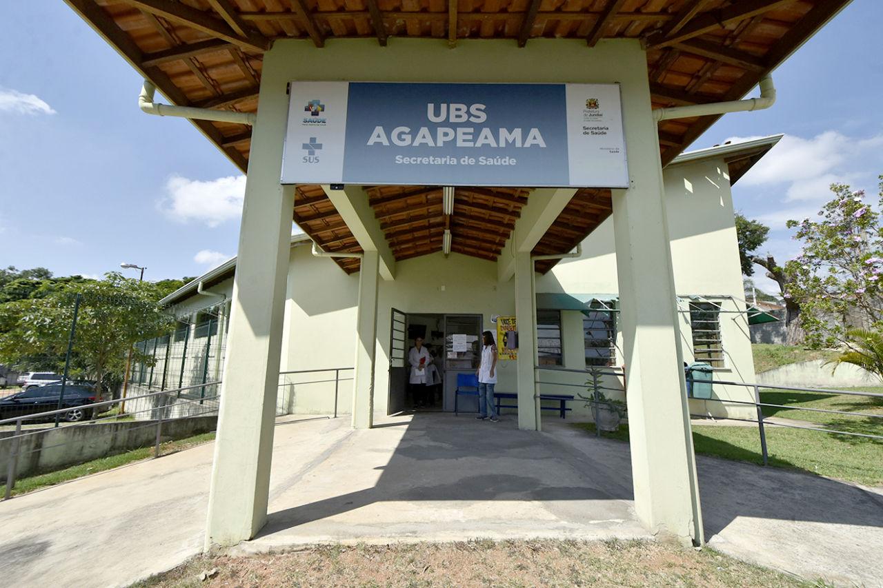 Fachada da UBS Agapeama