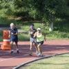 Atletas correm na pista do Complexo Educacional doutor Nicolino de Luca