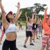 Praça Pôr do Sol recebe aula de ritmos de dança