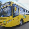 Foto de ônibus amarelo