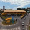 Terminal Eloy Chaves visto de cima